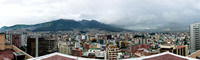 Quito from the roof of the Swissotel