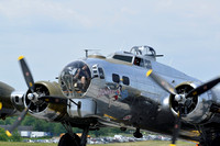 "Boeing B17G ""Flying Fortress"" Bomber 'Yankee Lady'"