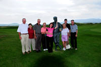 The golfers with Payne Stewart