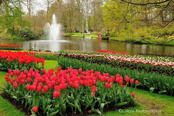 Keukenhof Gardens In Lisse Holland Garden Ftempo